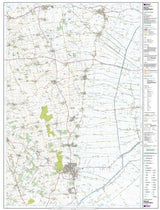 Maps - Bourne Heckington Explorer Map - Ordnance Survey
