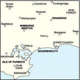 Maps - Bournemouth Purbeck Landranger Map - Ordnance Survey