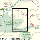Maps - Braemar Tomintoul Glen Avon Explorer Map - Ordnance Survey