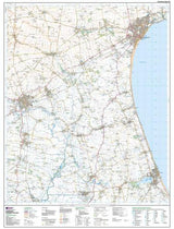 Maps - Bridlington Driffield Explorer Map - Ordnance Survey