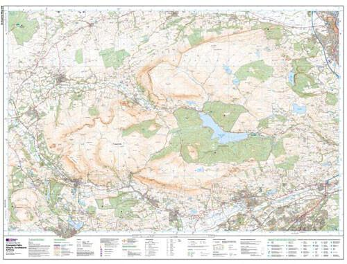 Maps - Campsie Fells Explorer Map - Ordnance Survey