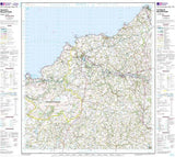 Maps - Cardigan Mynydd Preseli Landranger Map - Ordnance Survey