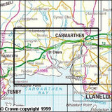 Maps - Carmarthen Kidwelly Explorer Map - Ordnance Survey