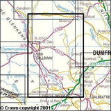 Maps - Castle Douglas Loch Ken Explorer Map - Ordnance Survey