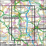 Maps - Chesterfield Alfreton Explorer Map - Ordnance Survey