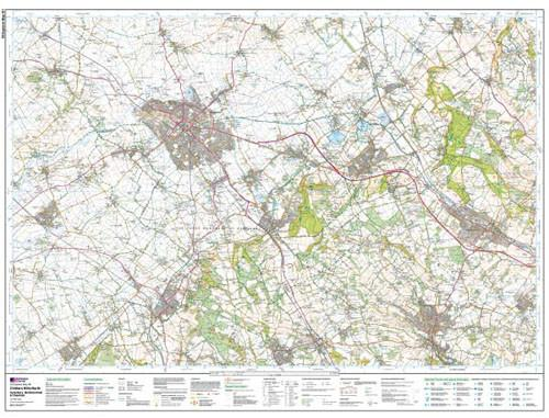 Maps - Chiltern Hills North Explorer Map - Ordnance Survey