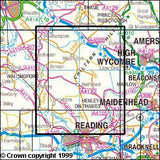 Maps - Chiltern Hills West Explorer Map - Ordnance Survey