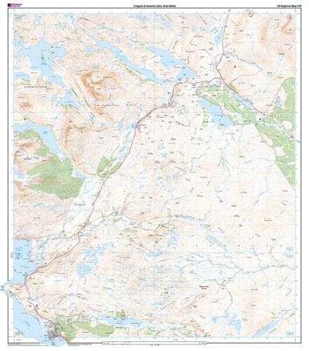 Maps - Coigach Summer Isles Explorer Map - Ordnance Survey