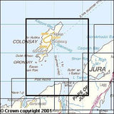 Maps - Colonsay Oronsay Explorer Map - Ordnance Survey