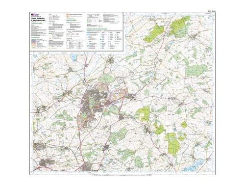 Maps - Corby Kettering Wellingborough Explorer Map - Ordnance Survey
