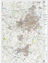 Maps - Coventry Warwick Leamington Spa Explorer Map - Ordnance Survey