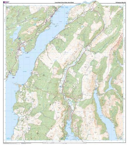 Maps - Cowal West Isle Of Bute Explorer Map - Ordnance Survey