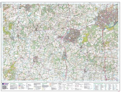 Maps - Crawley Horsham Explorer Map - Ordnance Survey