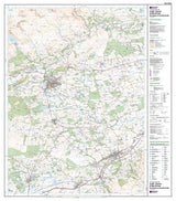 Maps - Crieff Comrie Glen Artney Explorer Map - Ordnance Survey