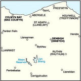 Maps - Denbigh Colwyn Bay Landranger Map - Ordnance Survey