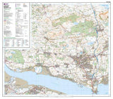 Maps - Dunfermline Kirkcaldy Explorer Map - Ordnance Survey