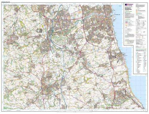 Maps - Durnham Sunderland Explorer Map - Ordnance Survey