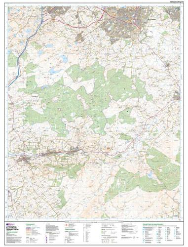Maps - East Kilbride Galston Darvel Explorer Map - Ordnance Survey