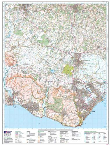 Maps - Eastbourne Beachy Head Explorer Map - Ordnance Survey