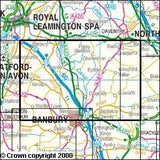 Maps - Edge Hill Fenny Compton Explorer Map - Ordnance Survey