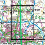 Maps - Epping Forest Lee Valley Explorer Map - Ordnance Survey