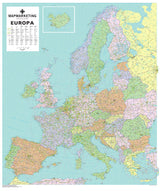 Maps - Europa Political Map Of Europe