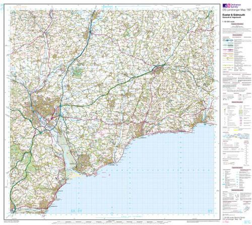 Maps - Exeter Sidmouth Exmouth Landranger Map - Ordnance Survey