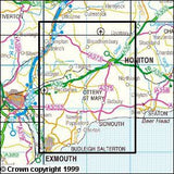 Maps - Exmouth Sidmouth Explorer Map - Ordnance Survey
