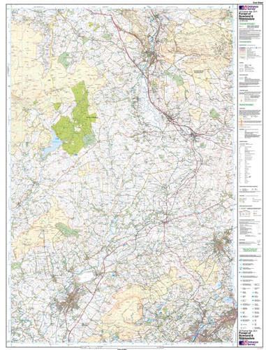 Maps - Forest Of Bowland Ribblesdale Explorer Map - Ordnance Survey