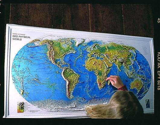 Maps - Geophysical World Map