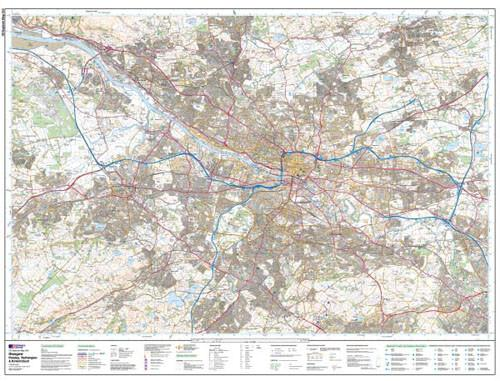 Maps - Glasgow Paisley Rutherglen Explorer Map - Ordnance Survey