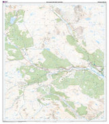 Maps - Glen Cassley Glen Oykel Explorer Map - Ordnance Survey