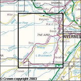 Maps - Glen Urquhart Strathglass Explorer Map - Ordnance Survey