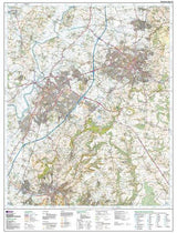 Maps - Gloucester Cheltenham Stroud Explorer Map - Ordnance Survey