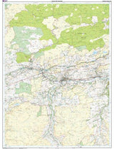 Maps - Hadrian's Wall Explorer Map - Ordnance Survey