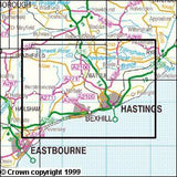 Maps - Hastings Bexhill Explorer Map - Ordnance Survey