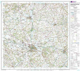 Maps - Hereford Leominster Landranger Map - Ordnance Survey