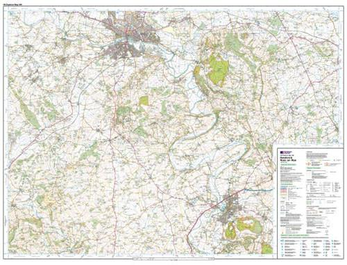 Maps - Hereford Ross-on-Wye Explorer Map - Ordnance Survey