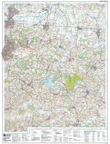 High Weald Royal Tunbridge Wells Explorer Map Ordnance Survey