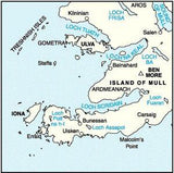 Maps - Iona West Mull Ulva Landranger Map - Ordnance Survey