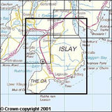 Maps - Islay South Explorer Map - Ordnance Survey