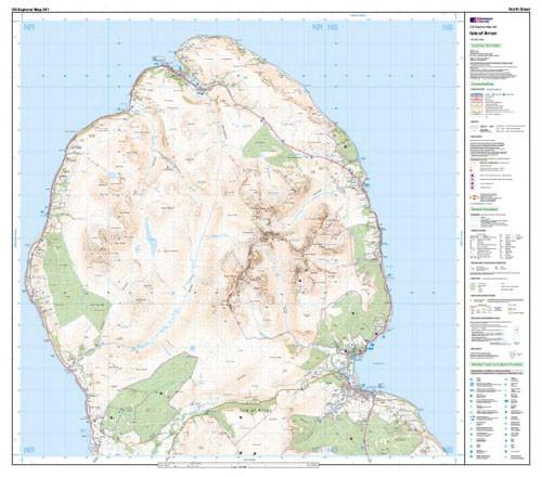 Maps - Isle Of Arran Explorer Map - Ordnance Survey
