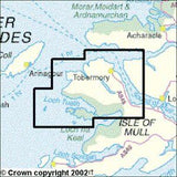 Maps - Isle Of Mull North Tobermory Explorer Map - Ordnance Survey