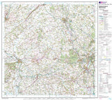 Maps - Kidderminster Wyre Forest Landranger Map - Ordnance Survey