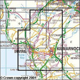 Maps - Kilmarnock Irvine Explorer Map - Ordnance Survey