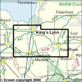 Maps - King's Lynn Downham Market Explorer Map - Ordnance Survey