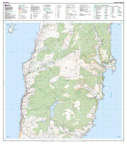 Maps - Kintyre South Campeltown Explorer Map - Ordnance Survey