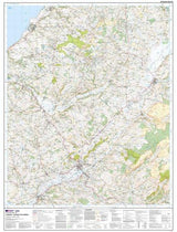 Maps - Lampeter Tregaron Llannon Explorer Map - Ordnance Survey