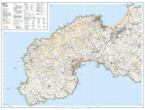 Maps - Land's End Explorer Map - Ordnance Survey