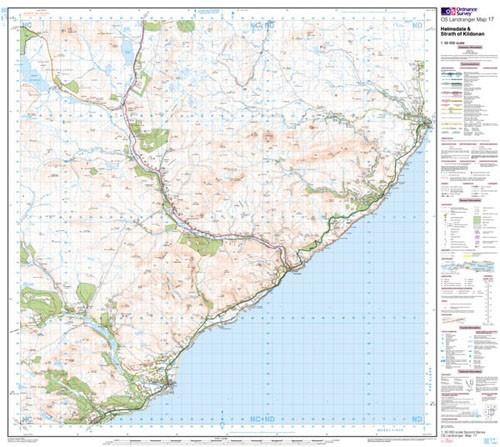 Maps - Landranger Map Helmsdale Strath Of Kildonan